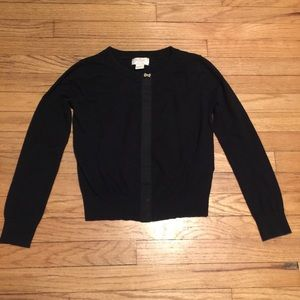 Kate Spade girls black cardigan sweater - M/10